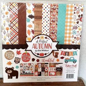 "Echo Park "" A perfect Autumn"" scrapbooking kit"